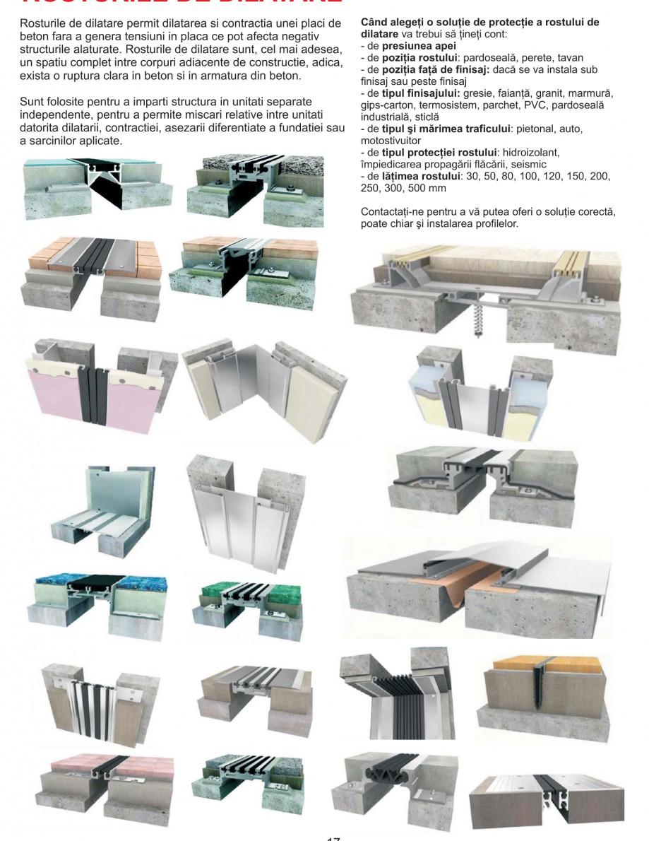 Pagina 15 - Solutii complete pentru hidroizolatii, stansari, curatare si protectie suprafete UNICO ...