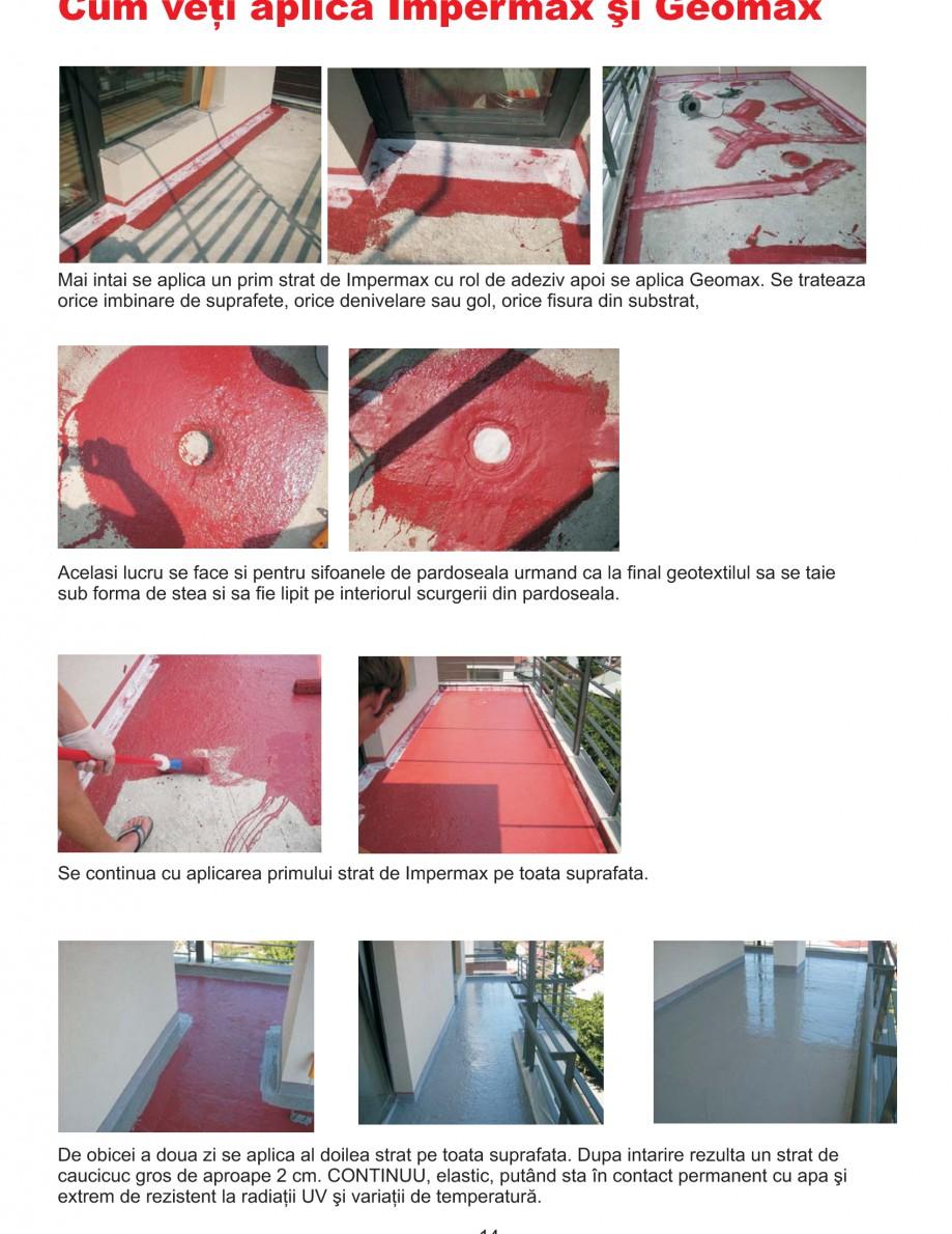 Pagina 17 - Solutii complete pentru hidroizolatii, stansari, curatare si protectie suprafete UNICO ...