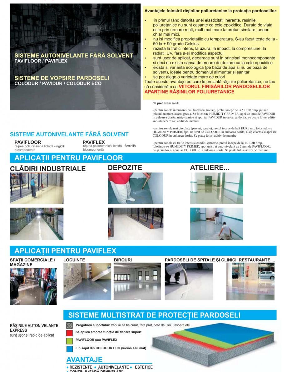Pagina 19 - Solutii complete pentru hidroizolatii, stansari, curatare si protectie suprafete UNICO ...