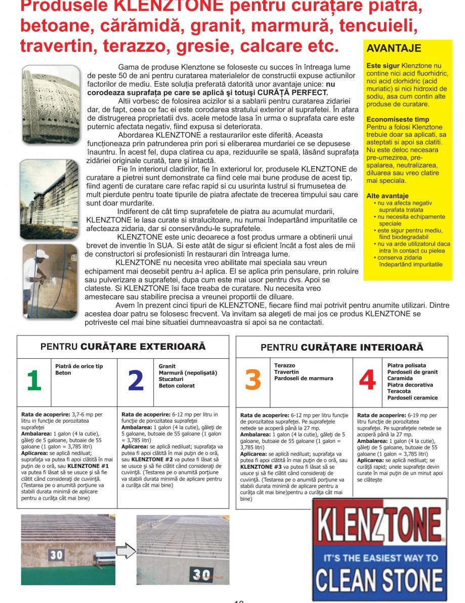Pagina 20 - Solutii complete pentru hidroizolatii, stansari, curatare si protectie suprafete UNICO ...