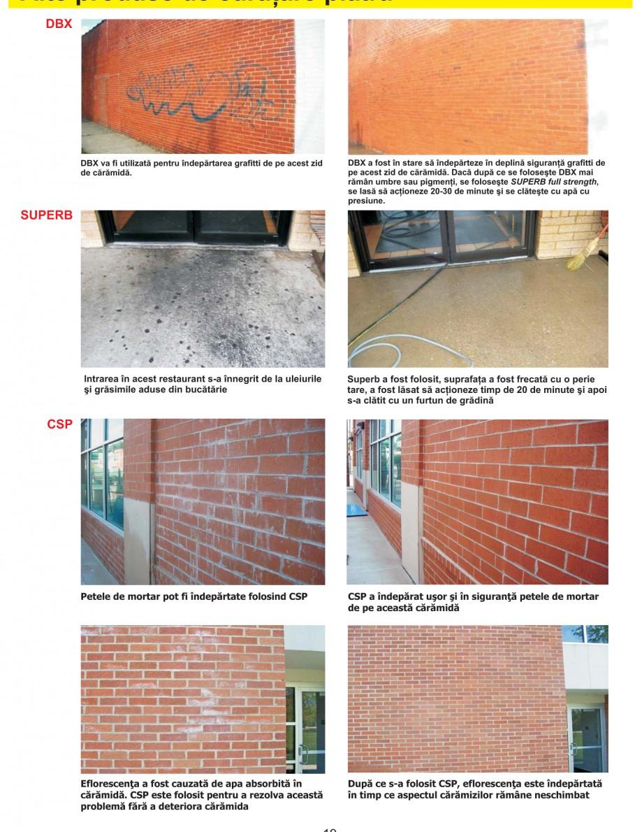 Pagina 21 - Solutii complete pentru hidroizolatii, stansari, curatare si protectie suprafete UNICO ...