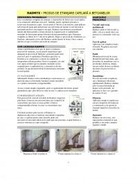 Produs de etansare capilara a betoanelor