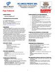 Tratament de impermeabilizare UNICO PROFIT - RADCON FORMULA #7