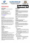 Sistem de impermeabilizare a capilaritatilor UNICO PROFIT - RADMYX