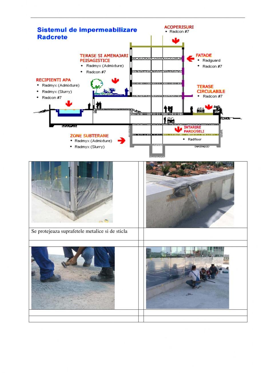 Pagina 1 - Aplicabilitatea produselor UNICO PROFIT RADCON FORMULA #7, RADFLOOR, RADGUARD, RADMYX...