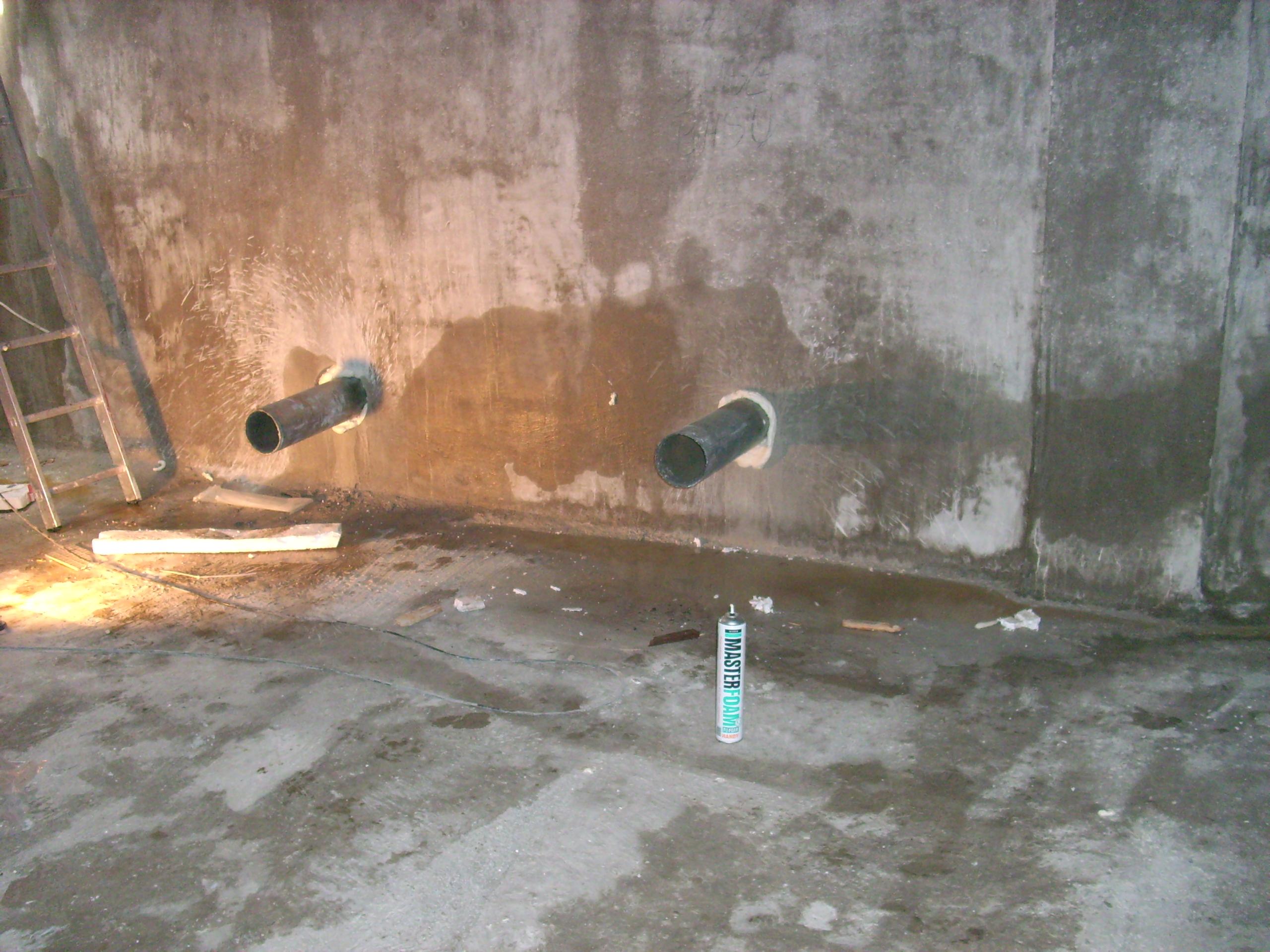 Hidroizolare strapungeri instalatii sanitare - Complex rezidential str Fetesti UNICO PROFIT - Poza 2