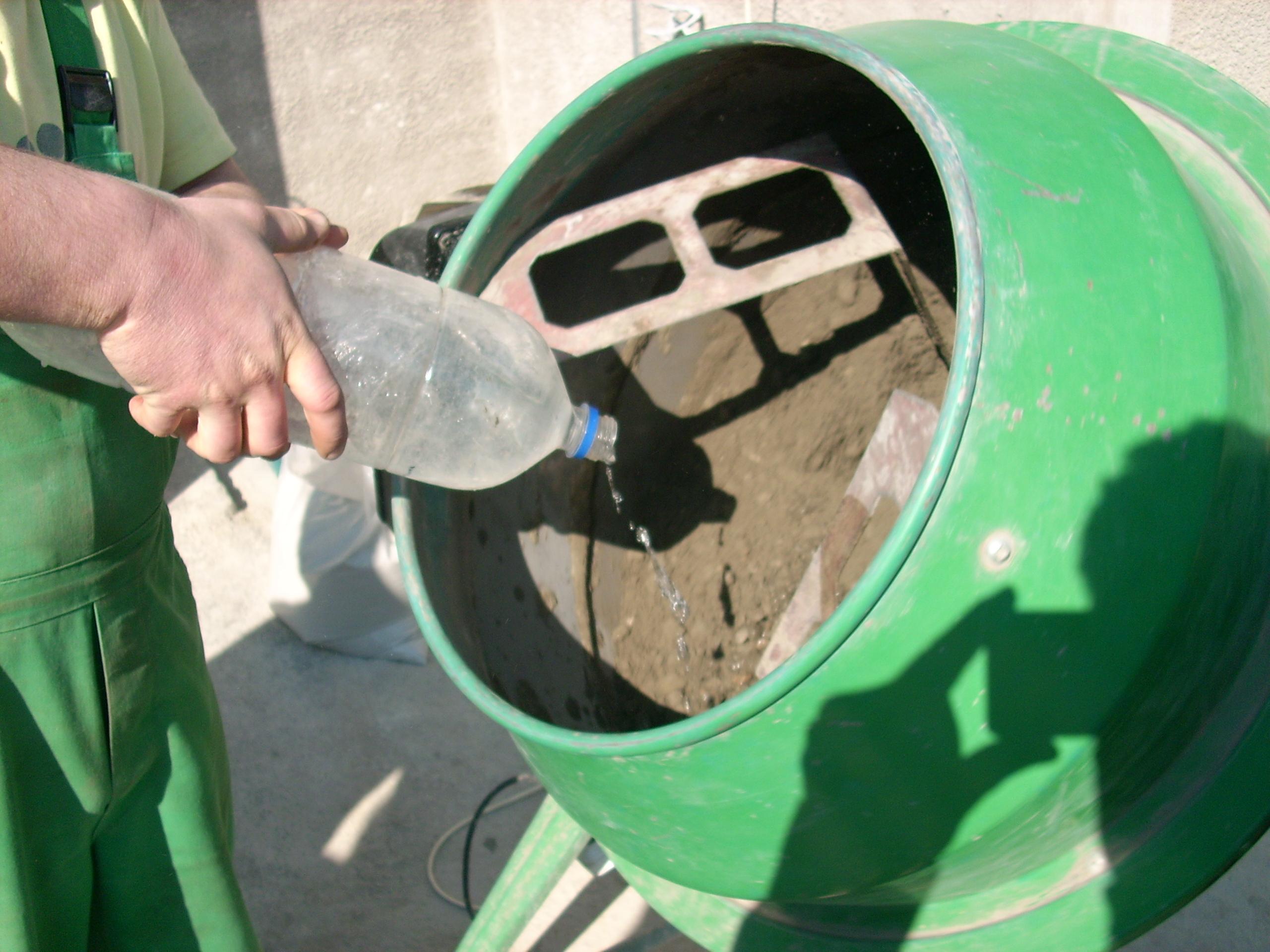 Prepararea betonului hidroizolat in toata masa UNICO PROFIT - Poza 5