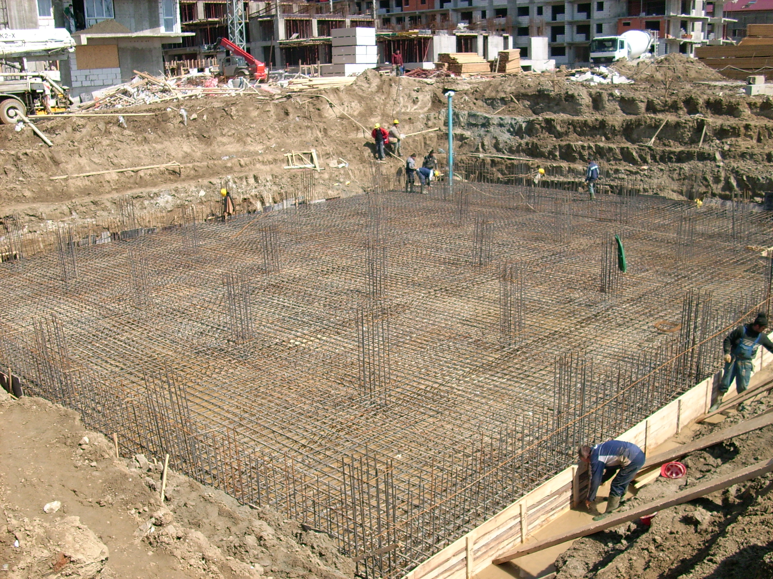 Etansare gauri tiranti - PRO HOTELS - Bazin apa - Complexul City Confort UNICO PROFIT - Poza 11