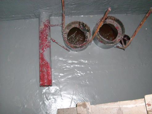 Lucrari, proiecte Aplicarea tratamentelor de impermeabilizare - Bazin de apa pentru incendiu - DAGESH - Turn Platinum UNICO PROFIT - Poza 6