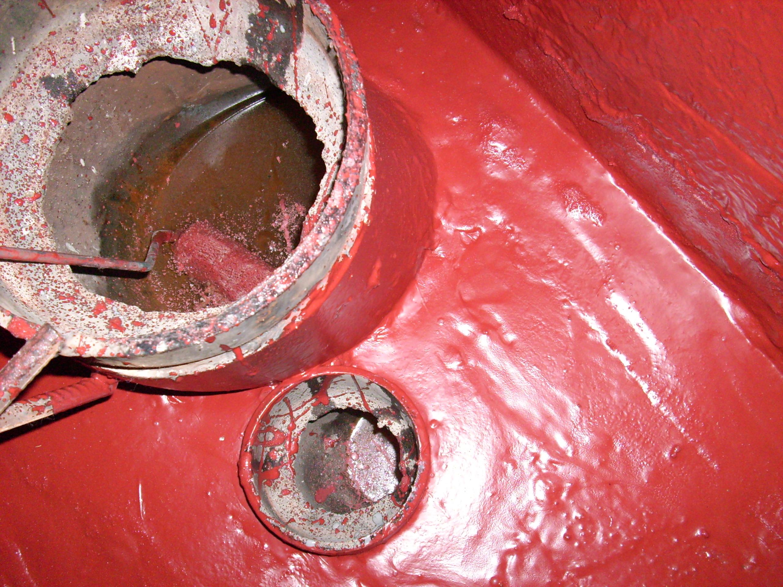 Aplicarea tratamentelor de impermeabilizare - Bazin de apa pentru incendiu - DAGESH - Turn Platinum UNICO PROFIT - Poza 9
