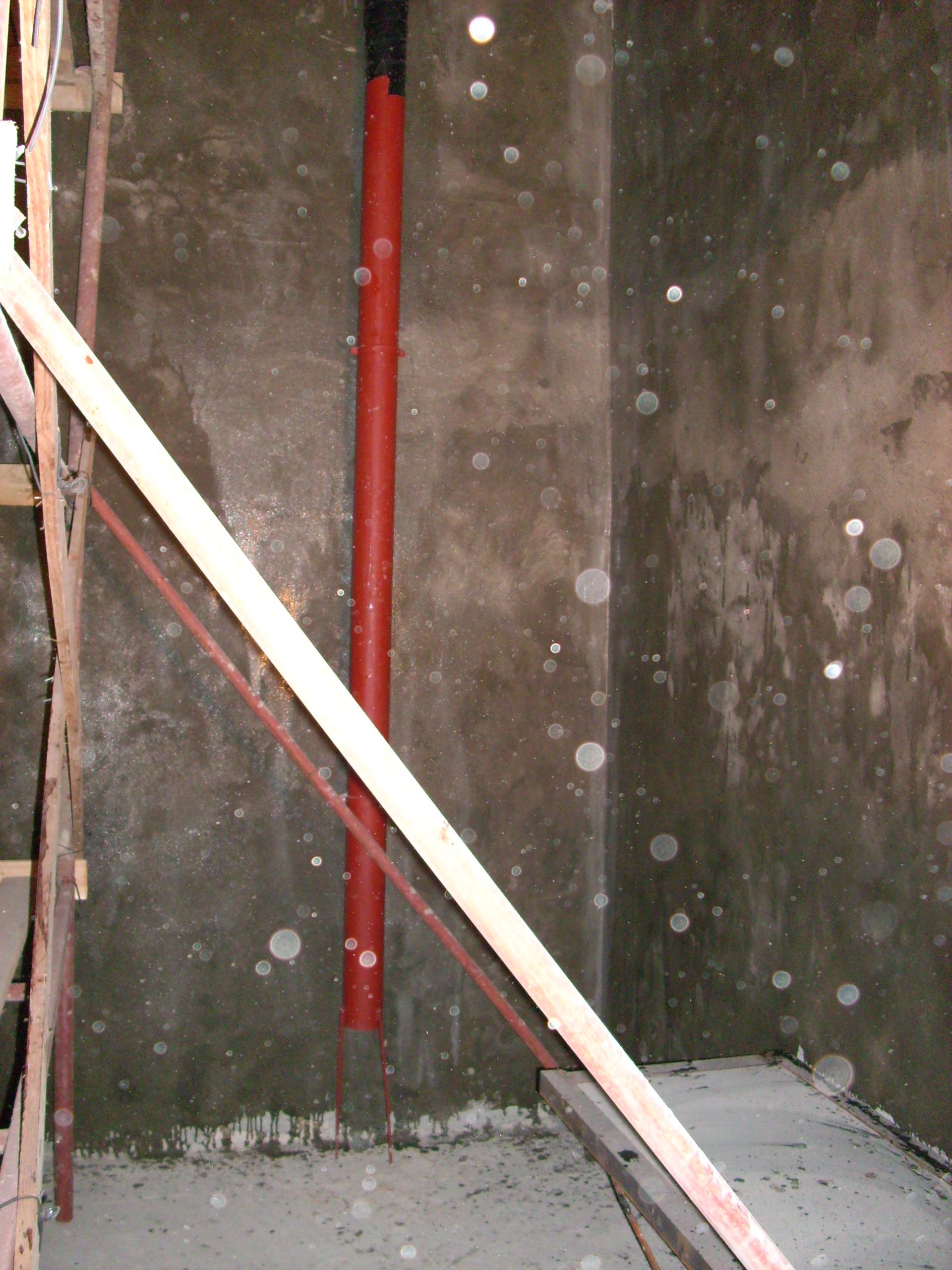 Aplicarea tratamentelor de impermeabilizare - Bazin de apa pentru incendiu - DAGESH - Turn Platinum UNICO PROFIT - Poza 17