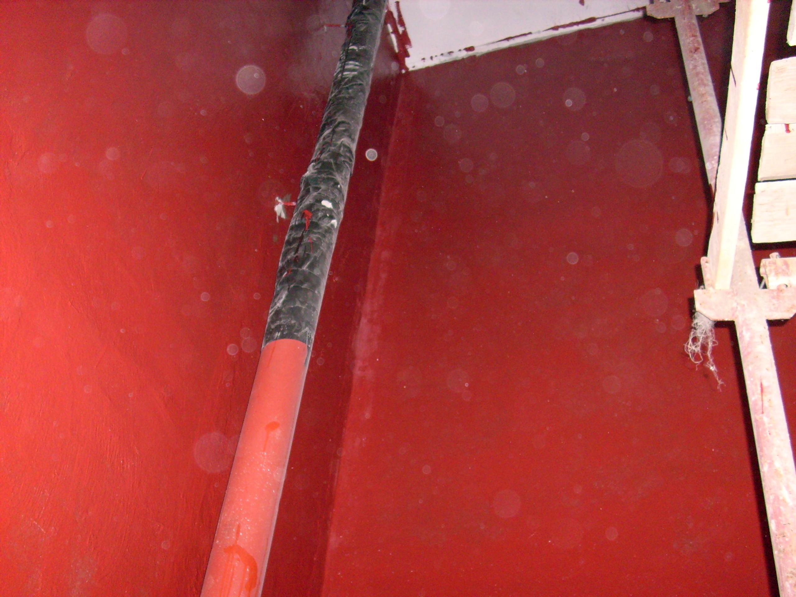 Aplicarea tratamentelor de impermeabilizare - Bazin de apa pentru incendiu - DAGESH - Turn Platinum UNICO PROFIT - Poza 19