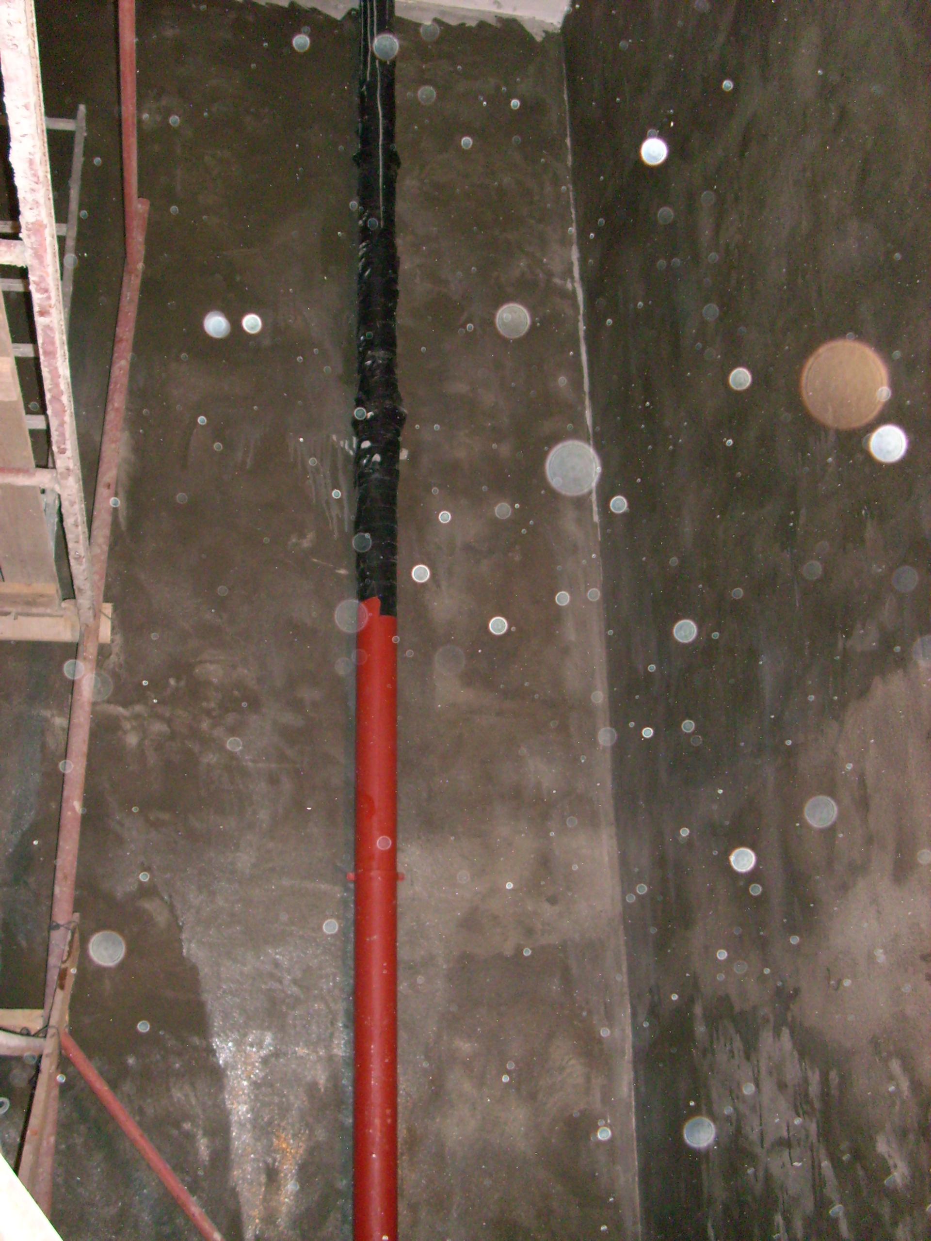 Aplicarea tratamentelor de impermeabilizare - Bazin de apa pentru incendiu - DAGESH - Turn Platinum UNICO PROFIT - Poza 22