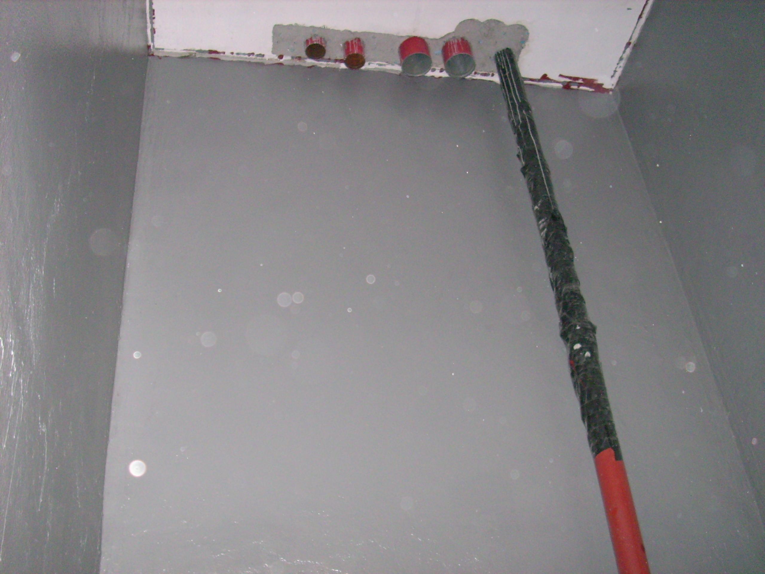 Aplicarea tratamentelor de impermeabilizare - Bazin de apa pentru incendiu - DAGESH - Turn Platinum UNICO PROFIT - Poza 28
