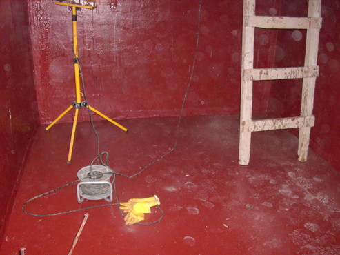 Lucrari, proiecte Aplicarea tratamentelor de impermeabilizare - Bazin de apa pentru incendiu - DAGESH - Turn Platinum UNICO PROFIT - Poza 30