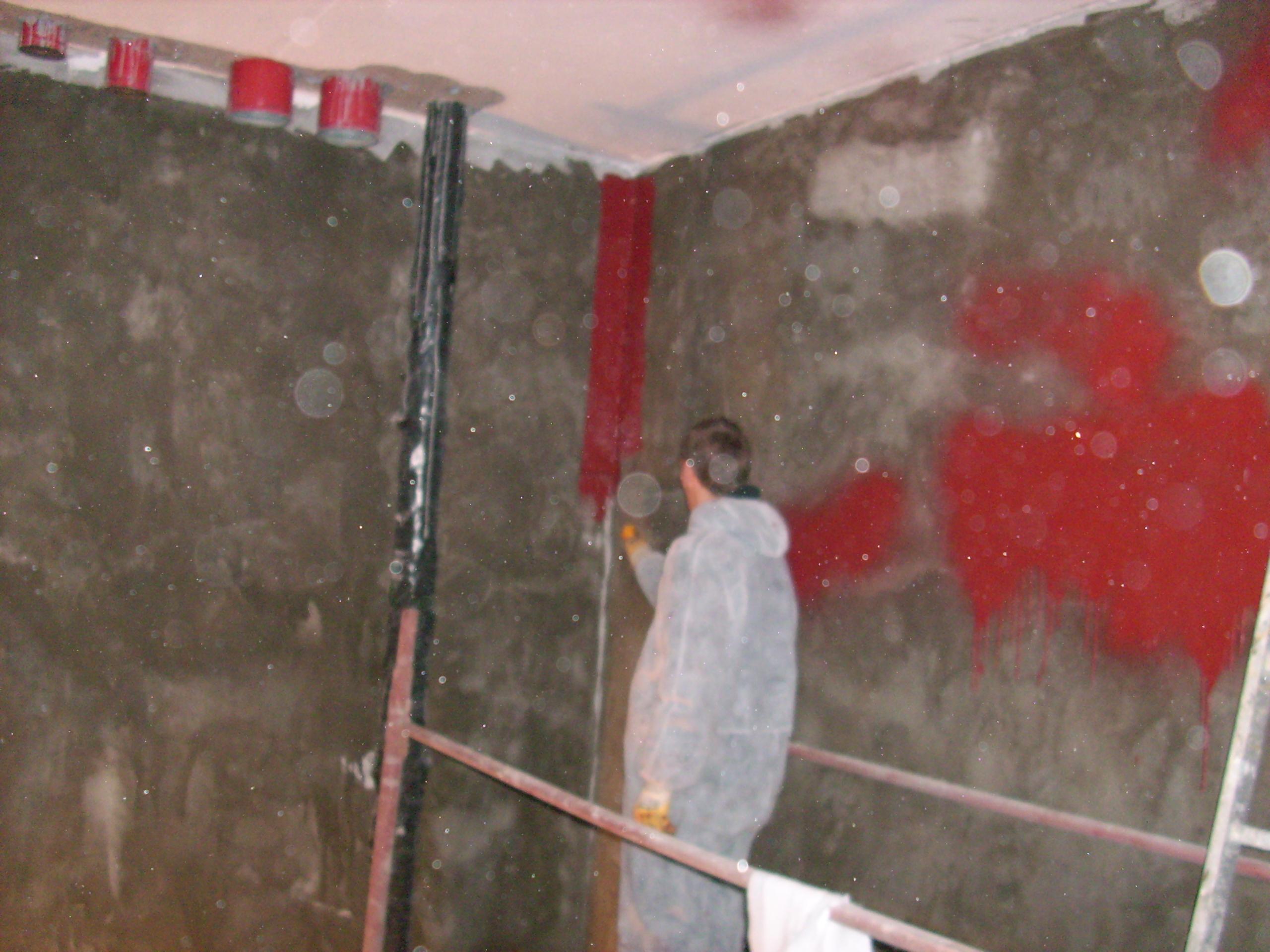Aplicarea tratamentelor de impermeabilizare - Bazin de apa pentru incendiu - DAGESH - Turn Platinum UNICO PROFIT - Poza 32