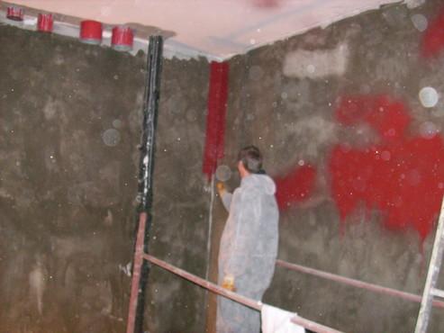 Lucrari, proiecte Aplicarea tratamentelor de impermeabilizare - Bazin de apa pentru incendiu - DAGESH - Turn Platinum UNICO PROFIT - Poza 32