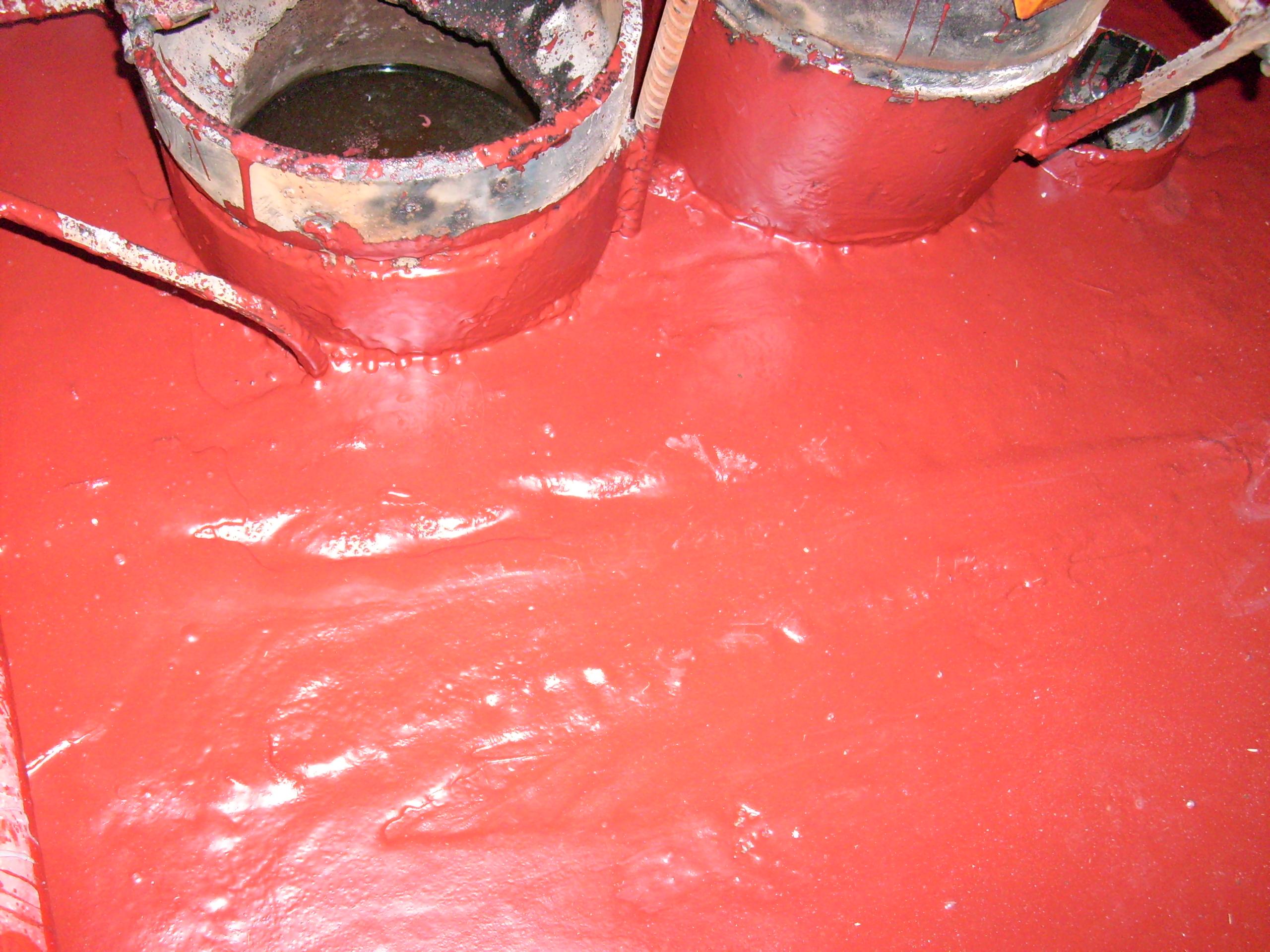 Aplicarea tratamentelor de impermeabilizare - Bazin de apa pentru incendiu - DAGESH - Turn Platinum UNICO PROFIT - Poza 40