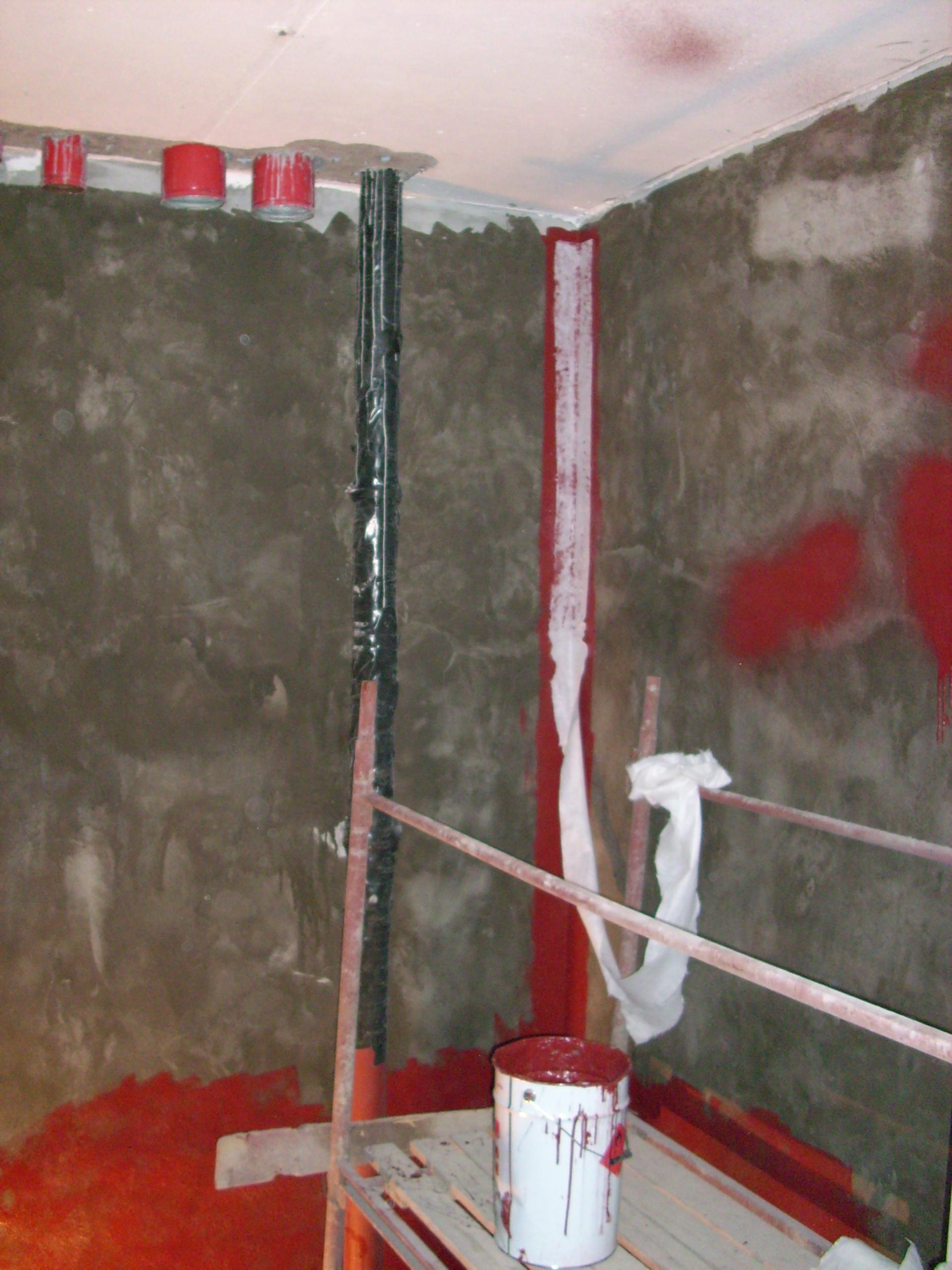 Aplicarea tratamentelor de impermeabilizare - Bazin de apa pentru incendiu - DAGESH - Turn Platinum UNICO PROFIT - Poza 51