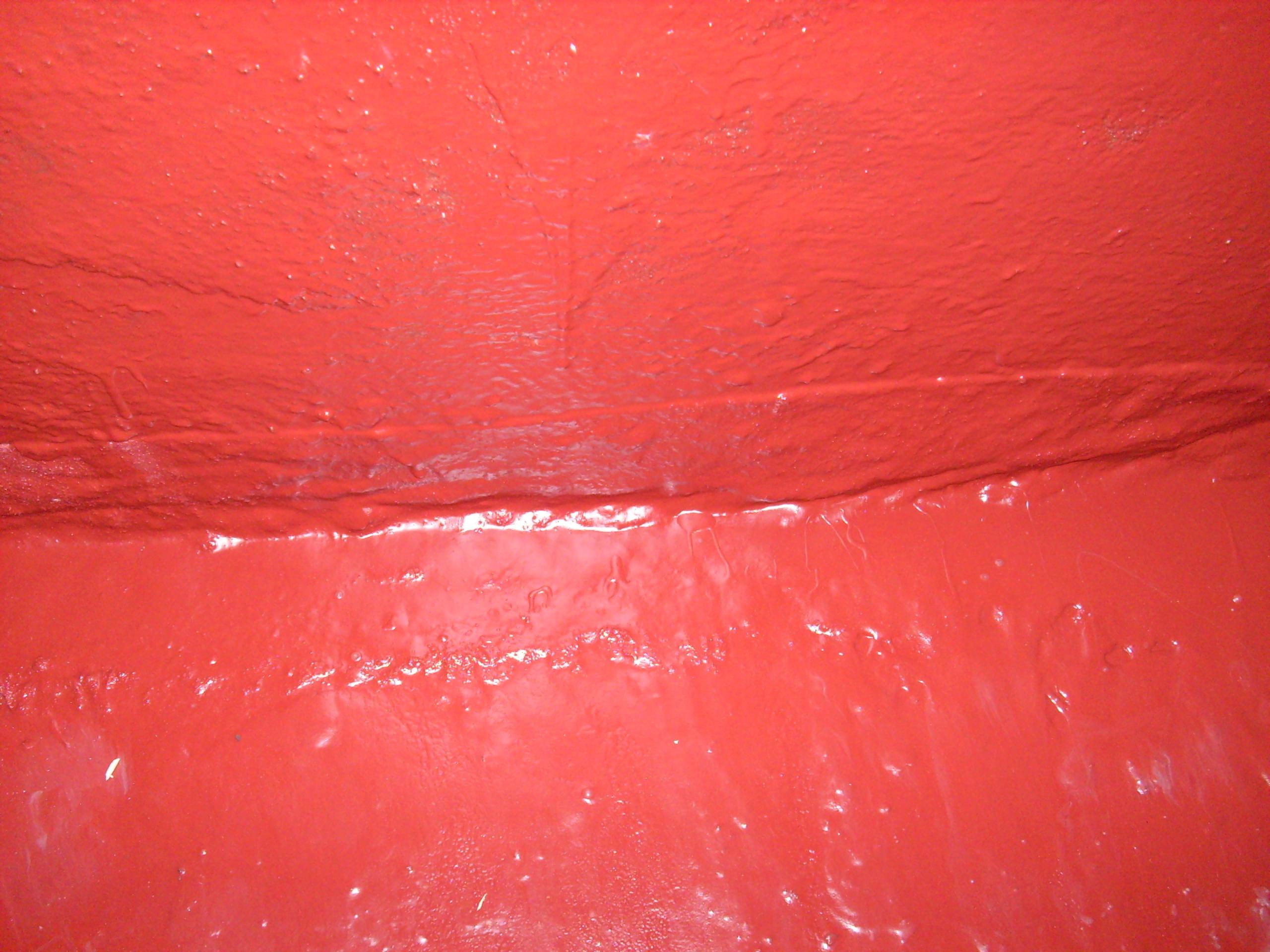 Aplicarea tratamentelor de impermeabilizare - Bazin de apa pentru incendiu - DAGESH - Turn Platinum UNICO PROFIT - Poza 54