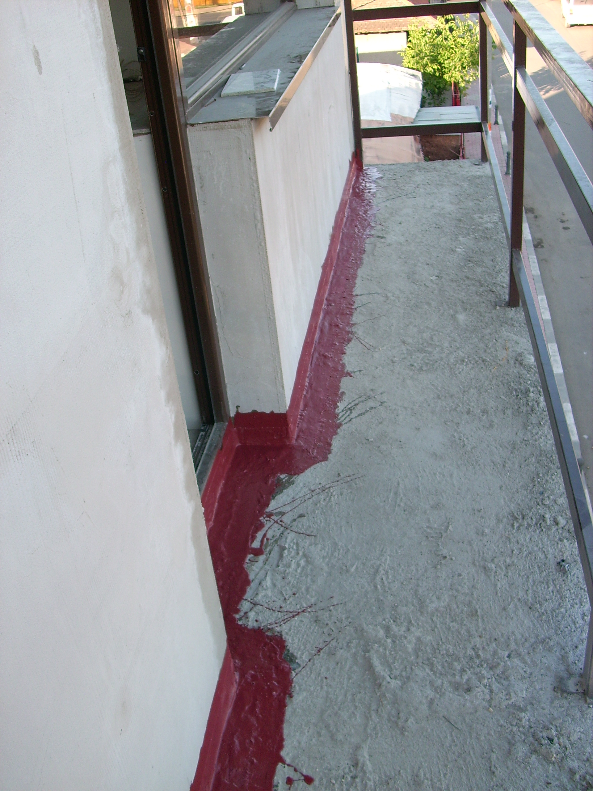 Aplicarea tratamentelor de impermeabilizare - Vila persoana privata - Buftea UNICO PROFIT - Poza 33