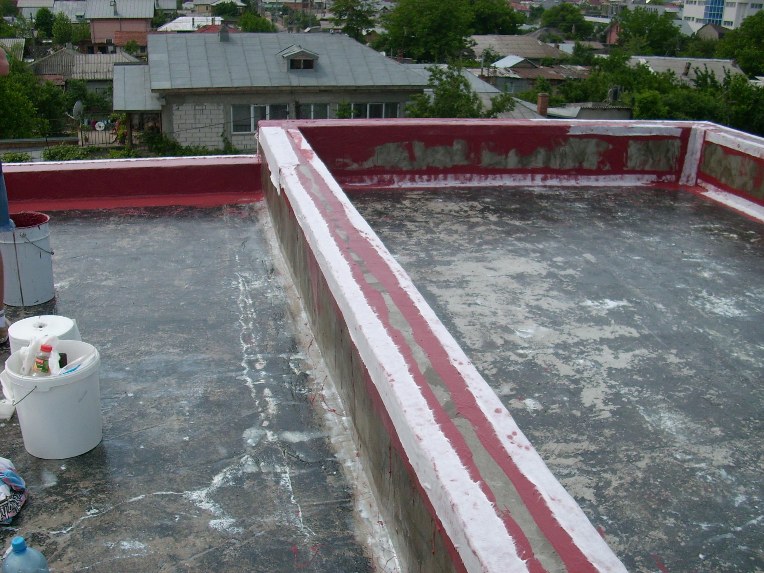 Aplicarea tratamentelor de impermeabilizare - Vila persoana privata - Pipera UNICO PROFIT - Poza 1