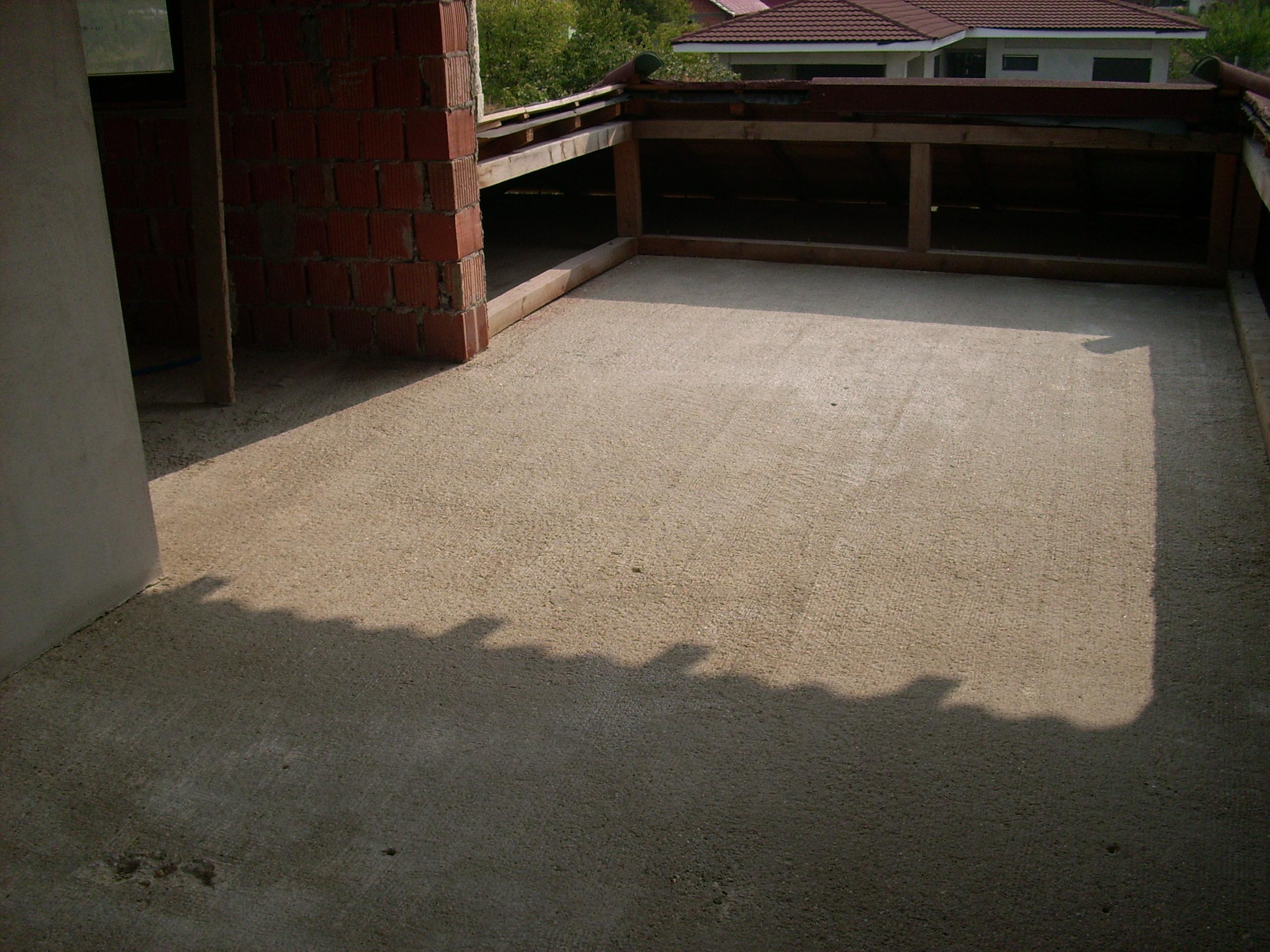 Aplicarea tratamentelor de impermeabilizare - Persoana privata - terasa UNICO PROFIT - Poza 19