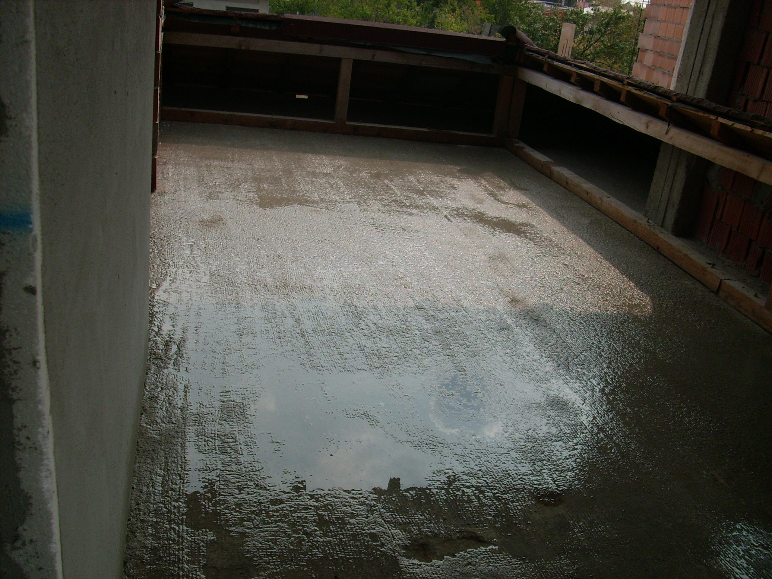 Aplicarea tratamentelor de impermeabilizare - Persoana privata - terasa UNICO PROFIT - Poza 26