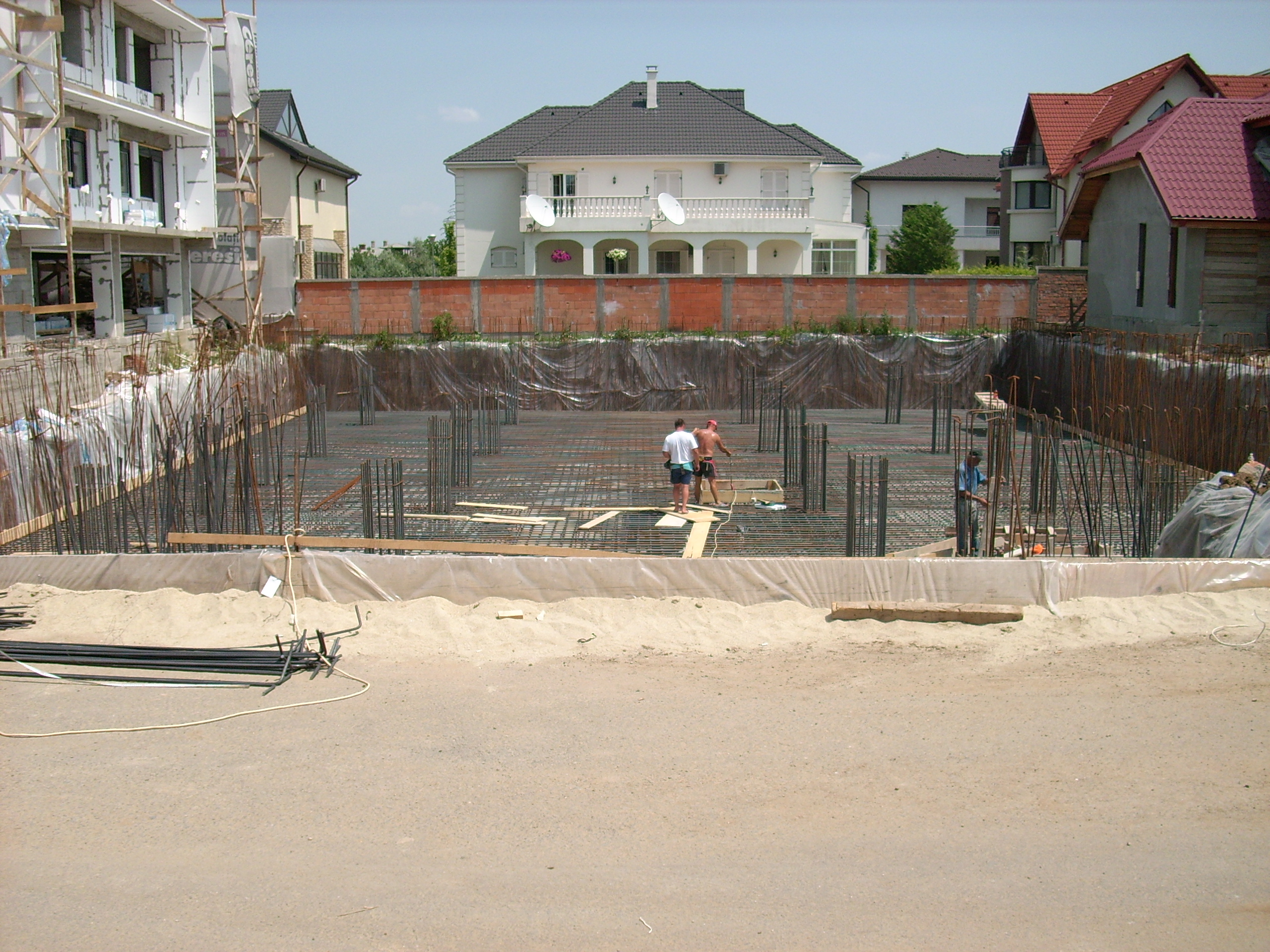 Aditiv in beton - Ansamblu rezidential - Str Erou Iancu Nicolae UNICO PROFIT - Poza 13
