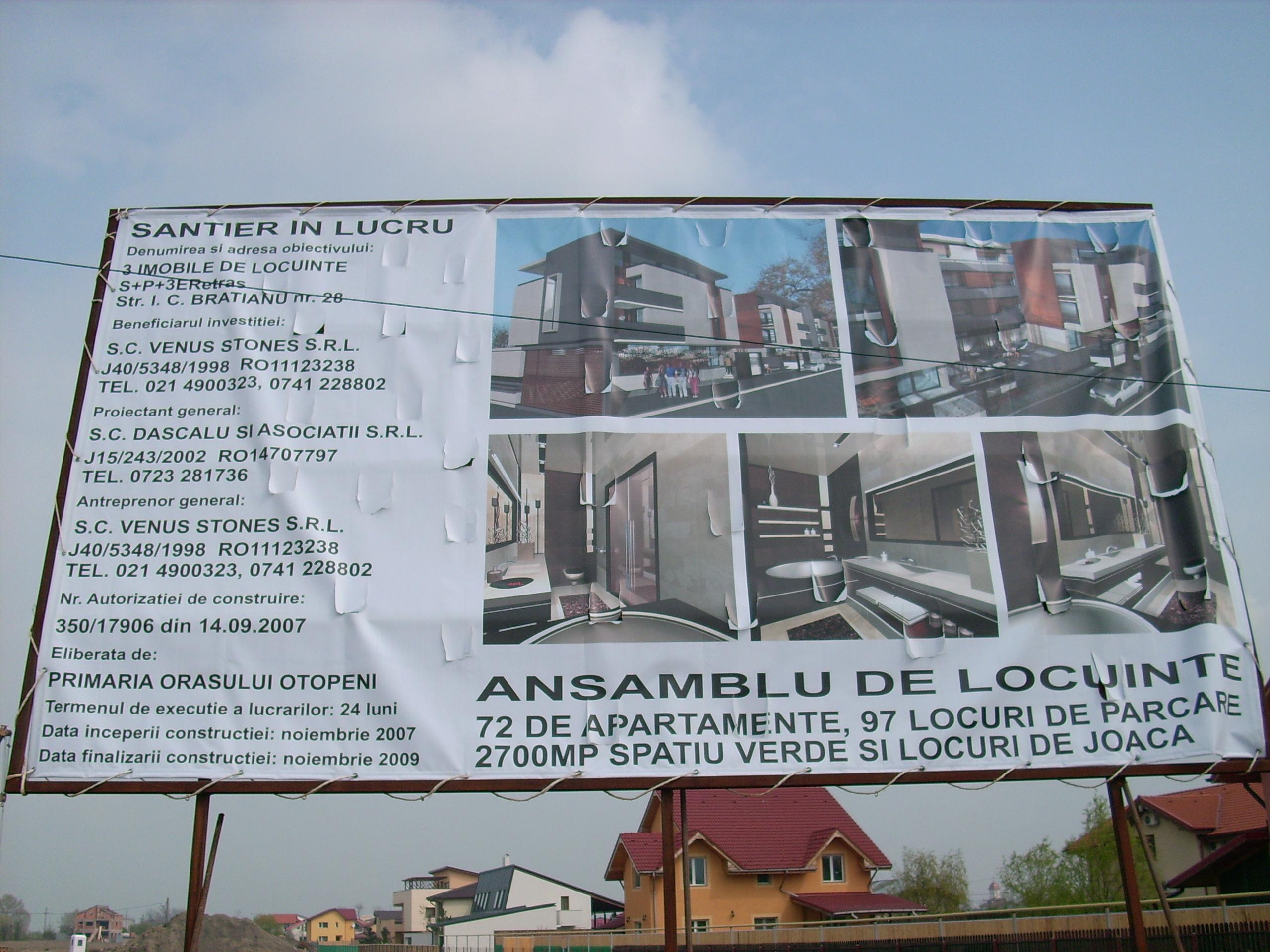 Aditiv in beton - Apartamente de lux - VENUS RESIDENCE - Otopeni UNICO PROFIT - Poza 4
