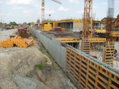 Aditiv in beton - Apartamente de lux - VENUS RESIDENCE - Otopeni / Aplicare tratament de impermeabilizare - RADMYX