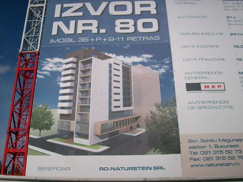 Lucrari, proiecte Aditiv in beton - MEP - Imobil birouri - Str. Izvor 80 UNICO PROFIT - Poza 1