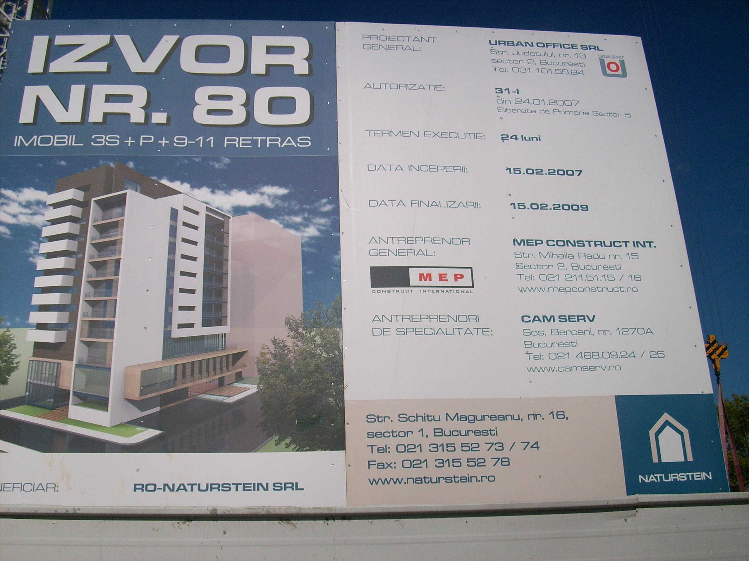 Aditiv in beton - MEP - Imobil birouri - Str. Izvor 80 UNICO PROFIT - Poza 4