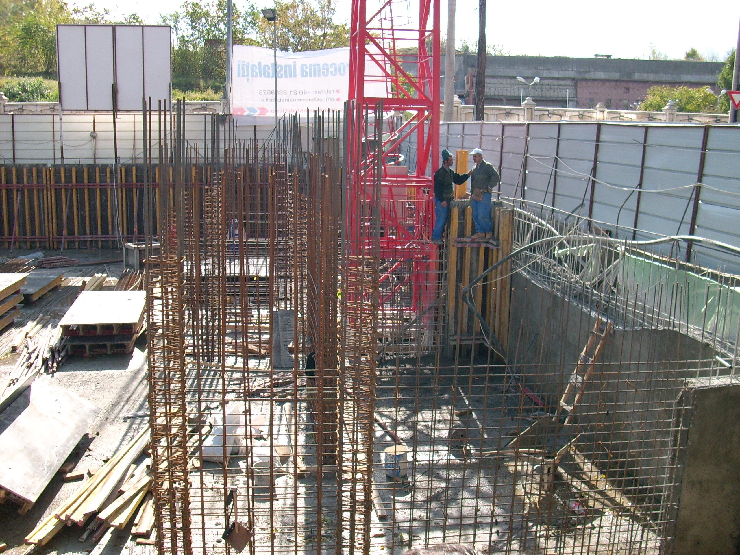Aditiv in beton - MEP - Imobil birouri - Str. Izvor 80 UNICO PROFIT - Poza 5