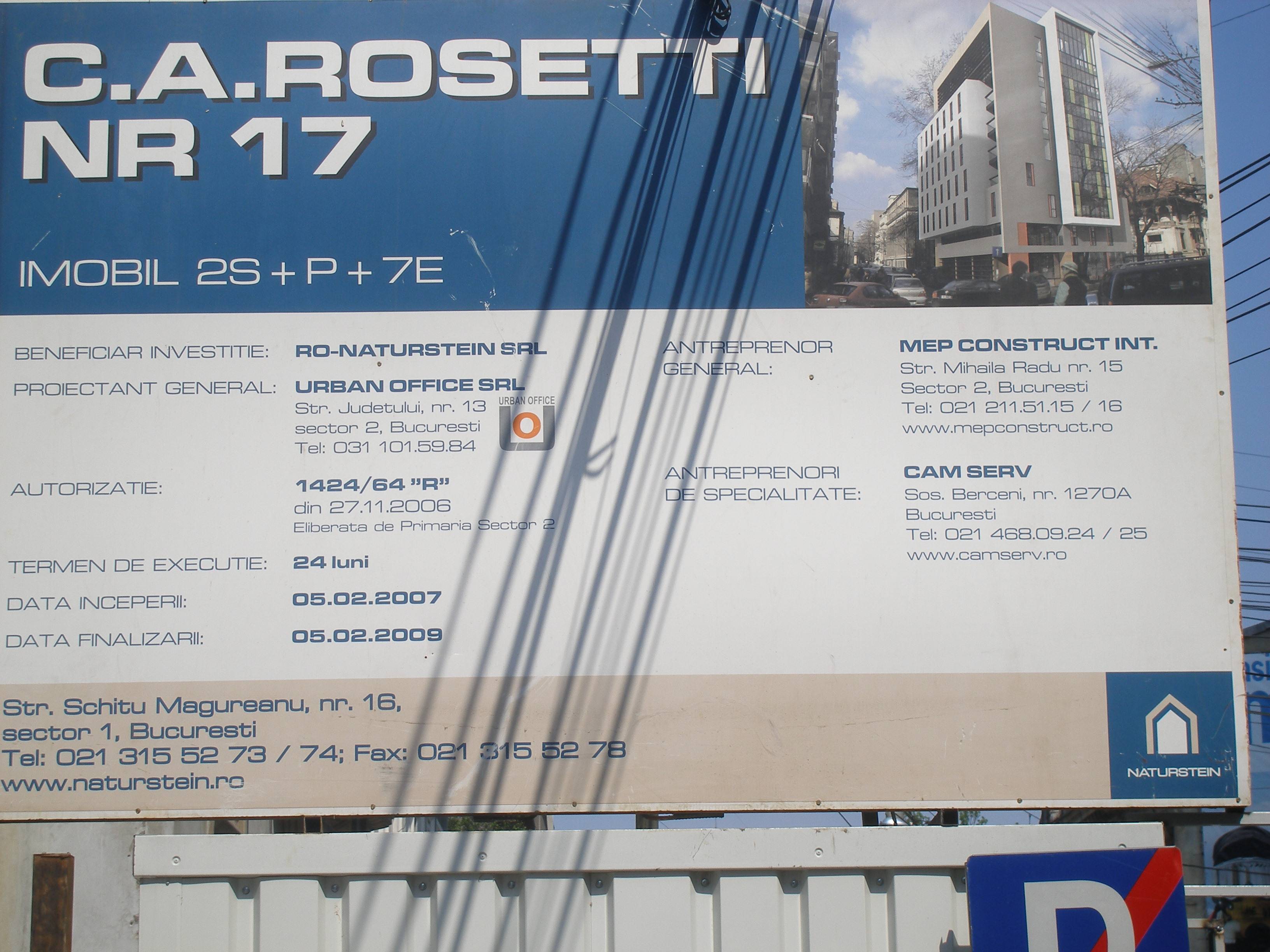Aditiv in beton - MEP - Imobil birouri - Rosetti 17 - Faza I UNICO PROFIT - Poza 26