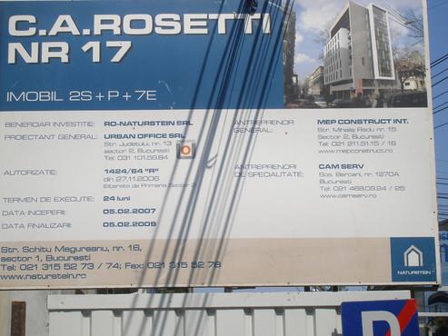 Lucrari, proiecte Aditiv in beton - MEP - Imobil birouri - Rosetti 17 - Faza I UNICO PROFIT - Poza 26