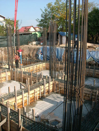 Aditiv in beton - NORDICA CONSTRUCT - Bd Pipera 12B / Aplicare tratament de impermeabilizare - RADMYX