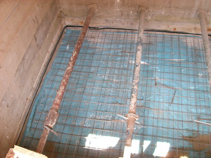 Aditiv in beton - Vila persoana privata - Bucuresti / Aplicare tratament de impermeabilizare - RADMYX