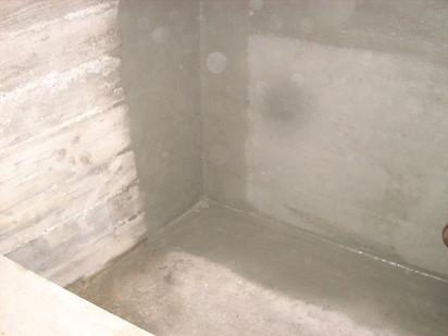 Aplicarea tratamentelor de impermeabilizare - BALCOVI - Bazin apa - Univ. Ecologica - Grozavesti / Aplicare tratament de impermeabilizare - RADMYX