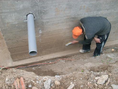 Lucrari, proiecte Aplicarea tratamentelor de impermeabilizare - Vila Rosu UNICO PROFIT - Poza 2