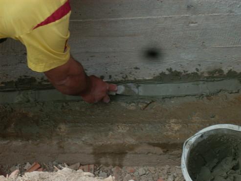 Lucrari, proiecte Aplicarea tratamentelor de impermeabilizare - Vila Rosu UNICO PROFIT - Poza 9