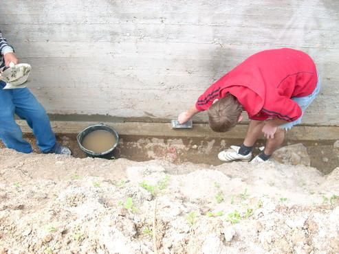 Lucrari, proiecte Aplicarea tratamentelor de impermeabilizare - Vila Rosu UNICO PROFIT - Poza 45