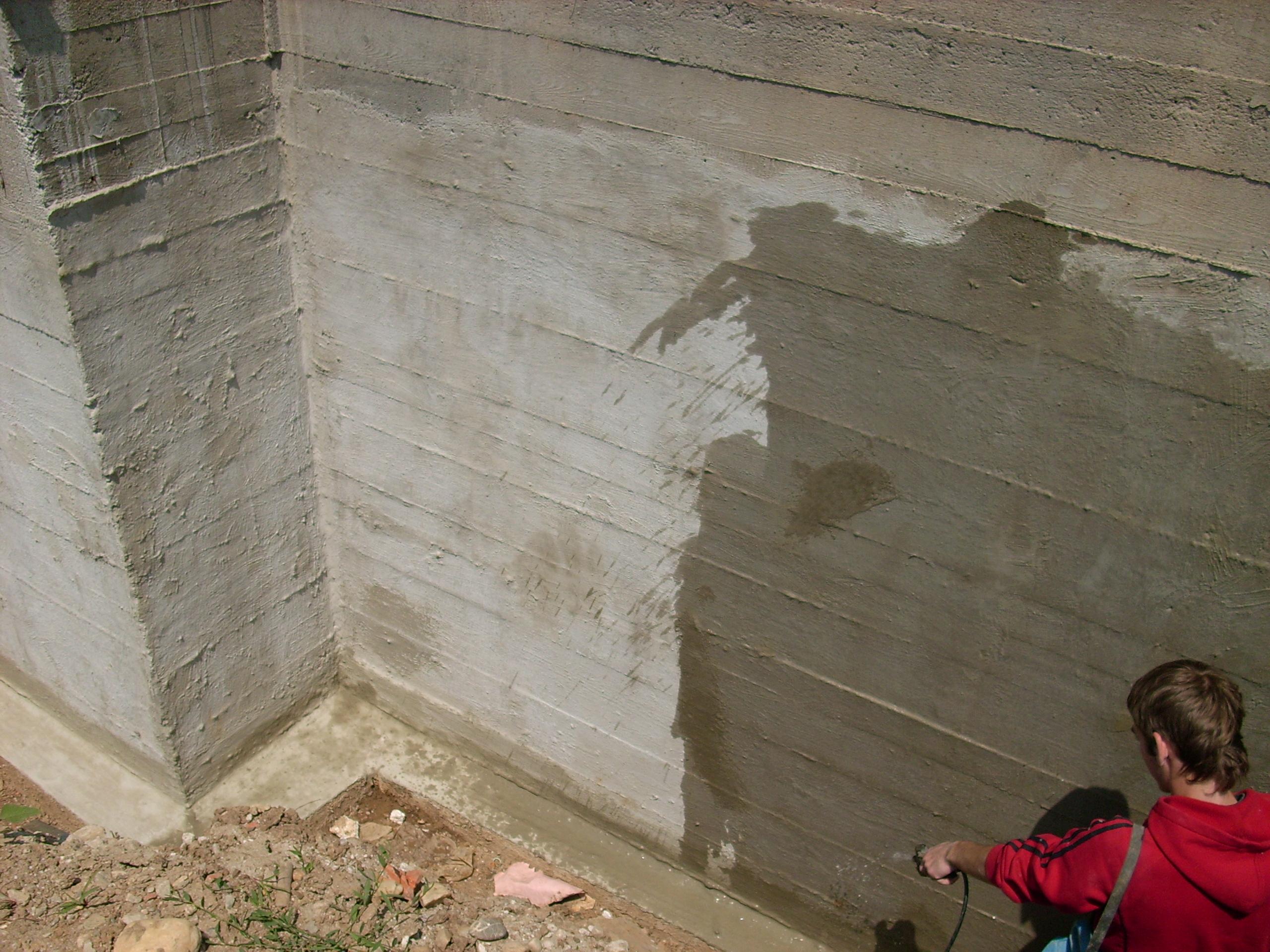 Aplicarea tratamentelor de impermeabilizare - Vila Rosu UNICO PROFIT - Poza 46
