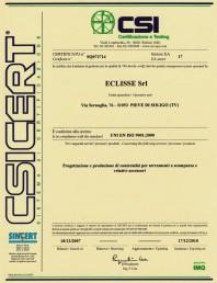 Certificat ISO 9001:2000