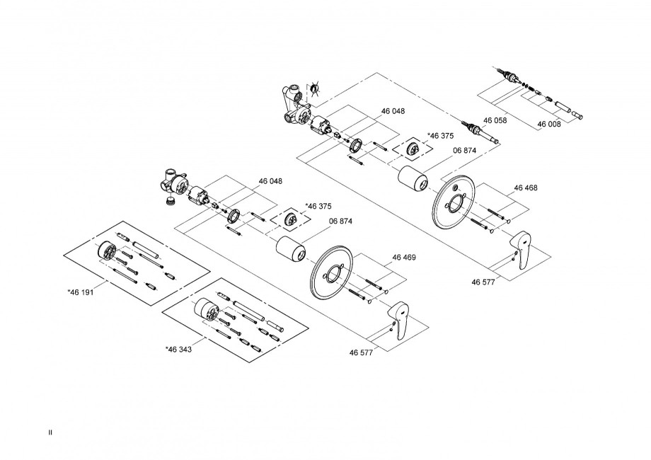 instructiuni montaj utilizare baterii baie lavoare bideuri 33635 33637 eurostyle grohe. Black Bedroom Furniture Sets. Home Design Ideas