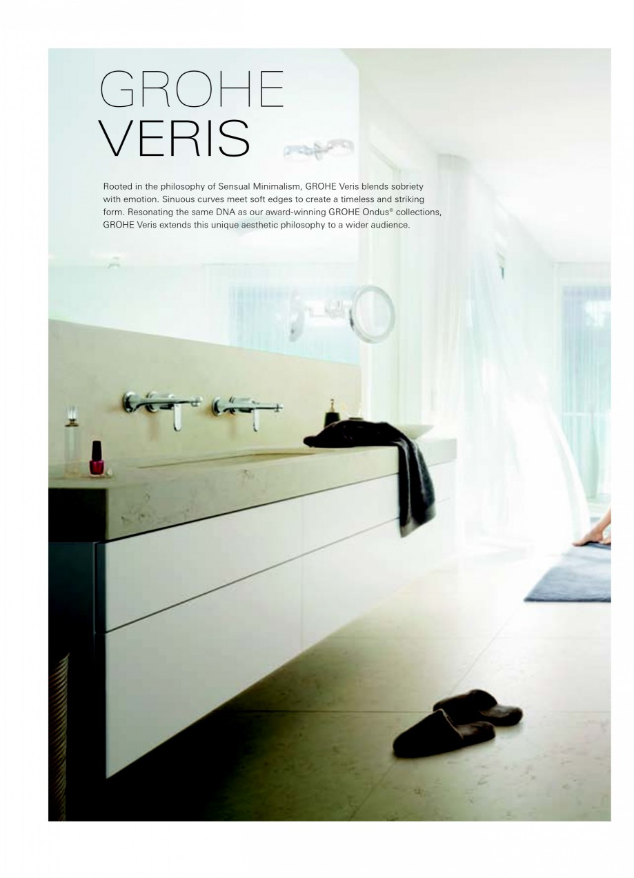 catalog brosura baterii baie colectii grohe spa allure. Black Bedroom Furniture Sets. Home Design Ideas