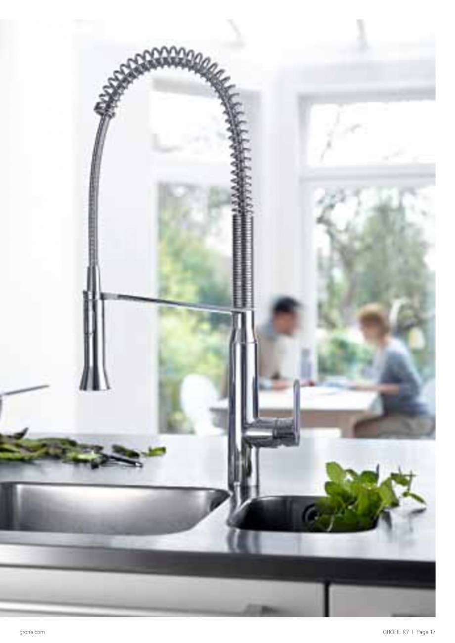 catalog brosura baterii pentru bucatarie aria zedra grohe kitchen faucet parts all images arrows indicate