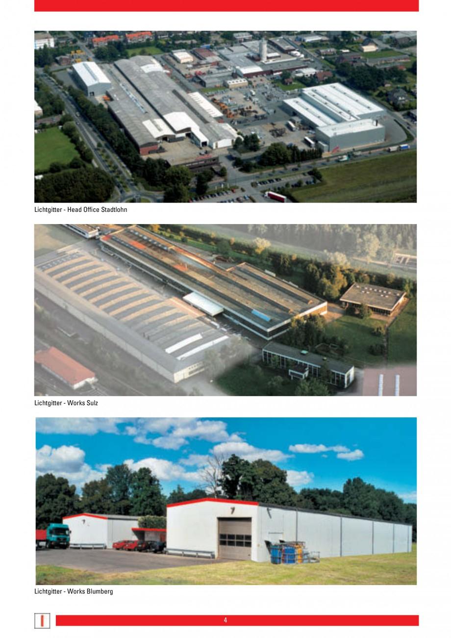 Pagina 4 - Scari si trepte metalice LICHTGITTER RO LG Special, LG Standard Catalog, brosura Engleza ...