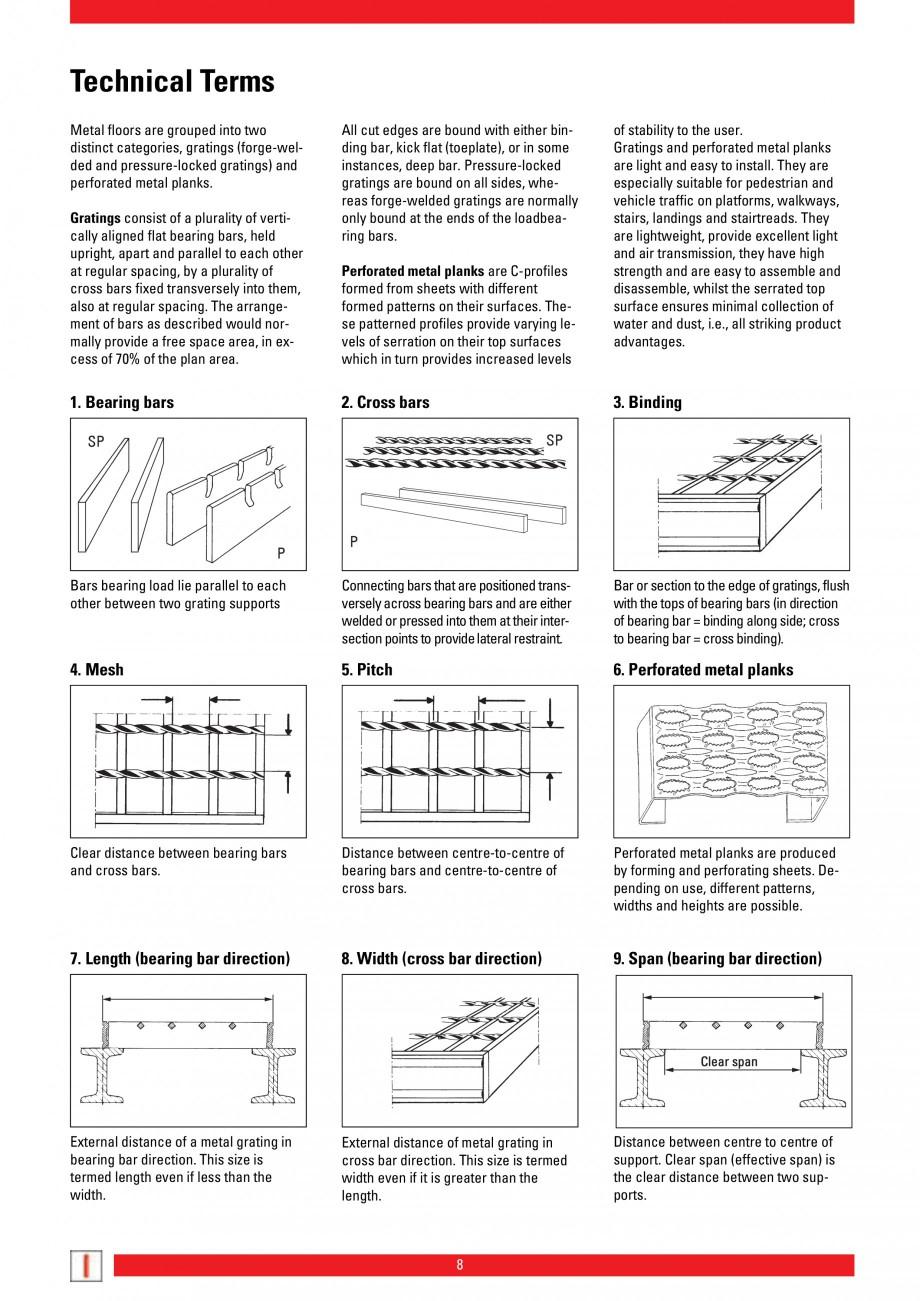 Pagina 8 - Scari si trepte metalice LICHTGITTER RO LG Special, LG Standard Catalog, brosura Engleza ...