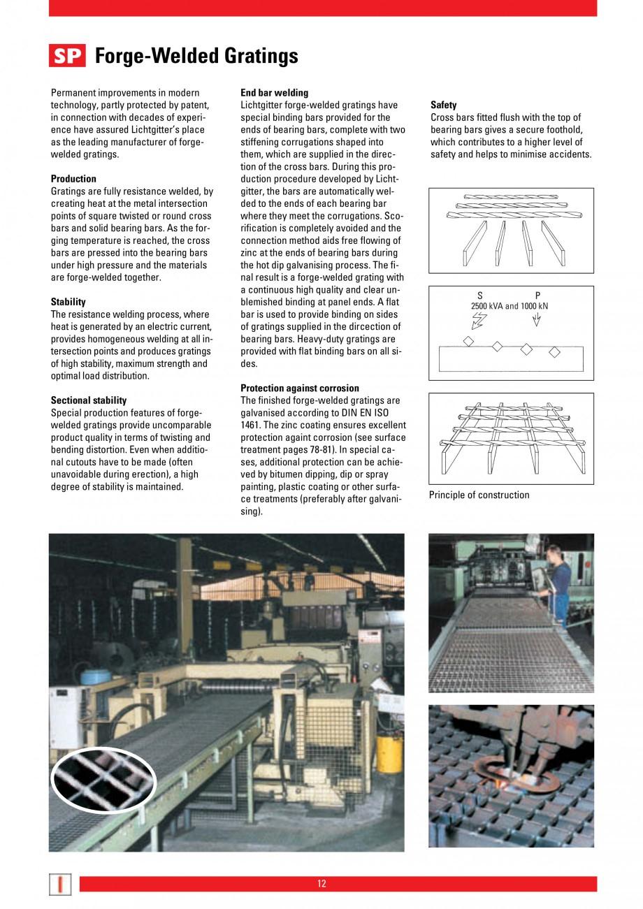 Pagina 12 - Scari si trepte metalice LICHTGITTER RO LG Special, LG Standard Catalog, brosura Engleza...